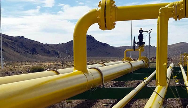 Obra de gasoducto línea sur